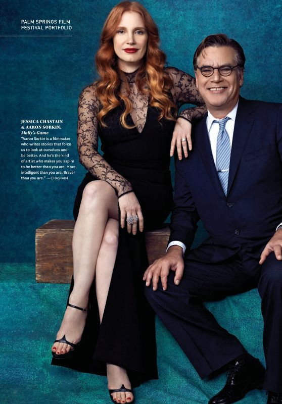 Jessica Chastain - The Wrap Magazine Oscar Guide Issue, February 2018