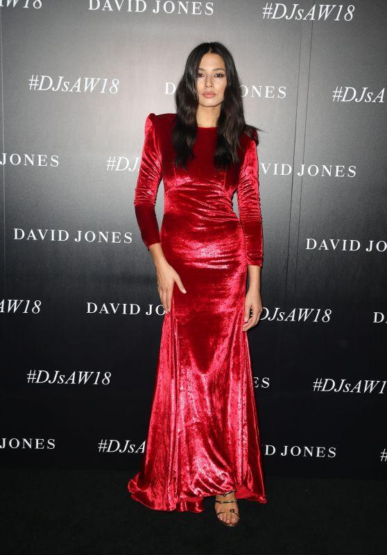 Jessica Gomes – David Jones Autumn Winter 2018 Collections Launch Red Carpet in Sydney