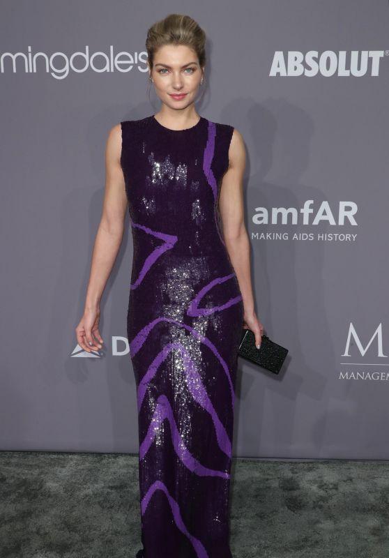 Jessica Hart – 2018 amfAR Gala in NYC