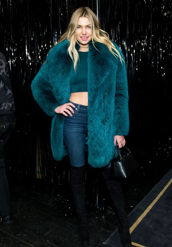 Jessica Hart - Bergdorf Goodman x Dundas Party FW18 at NYFW