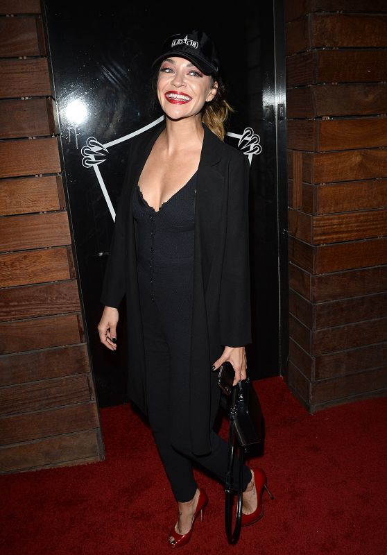 Jessica Szohr - All Star Party at 1 Oak in Los Angeles