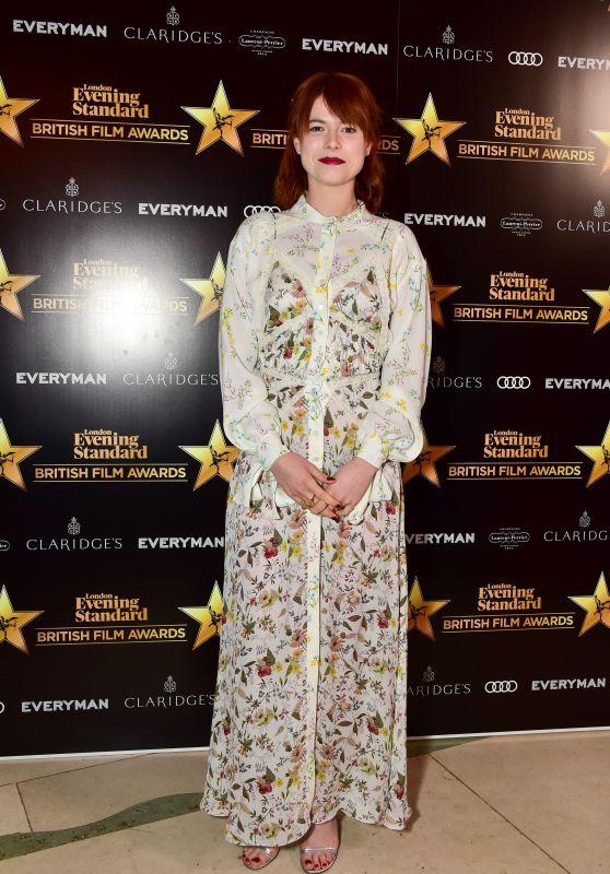 Jessie Buckley – 2018 London Evening Standard British Film Awards in London
