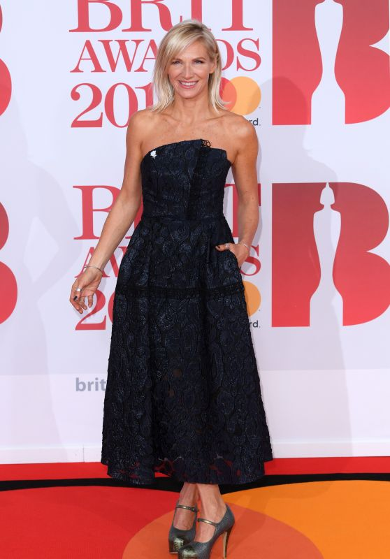 Jo Whiley – 2018 Brit Awards in London
