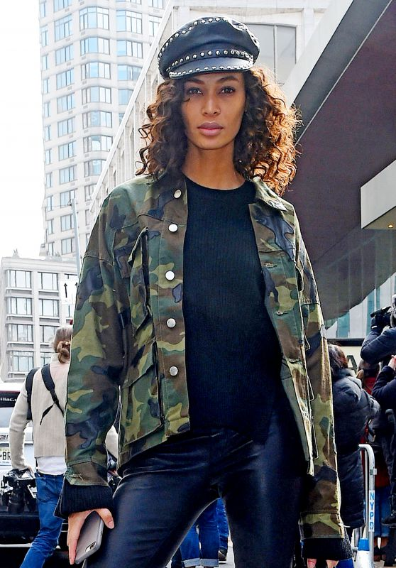 Joan Smalls - Outside the Michael Kors Show in NYC