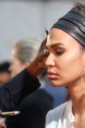 Joan Smalls - Tom Ford Show Backstage, Fall Winter 2018 at NYFW