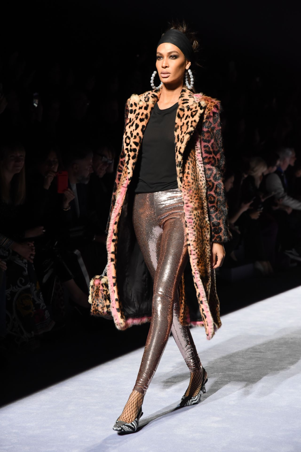 Joan Smalls Tom Ford Womens Runway Show For Nyfw 2018