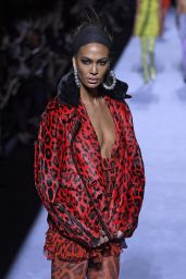 Joan Smalls - Tom Ford Womens Runway Show for NYFW 2018