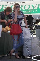 Jodie Sweetin - Farmers Market in Studio City 02/04/2018