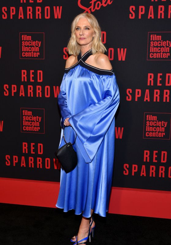"Joely Richardson – ""Red Sparrow"" Premiere in NYC"