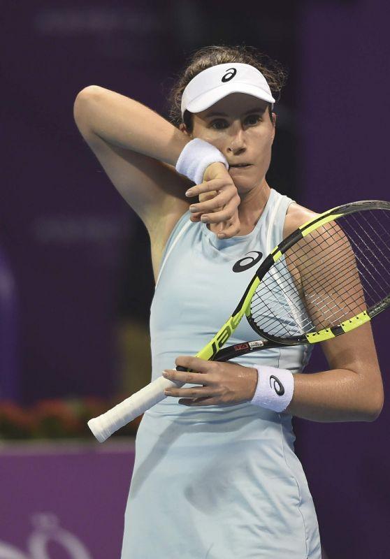 Johanna Konta – Qatar WTA Total Open in Doha 02/16/2018