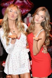 Josephine Skriver and Romee Strijd Make This Valentine