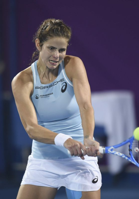 Julia Goerges – Qatar WTA Total Open in Doha 02/16/2018