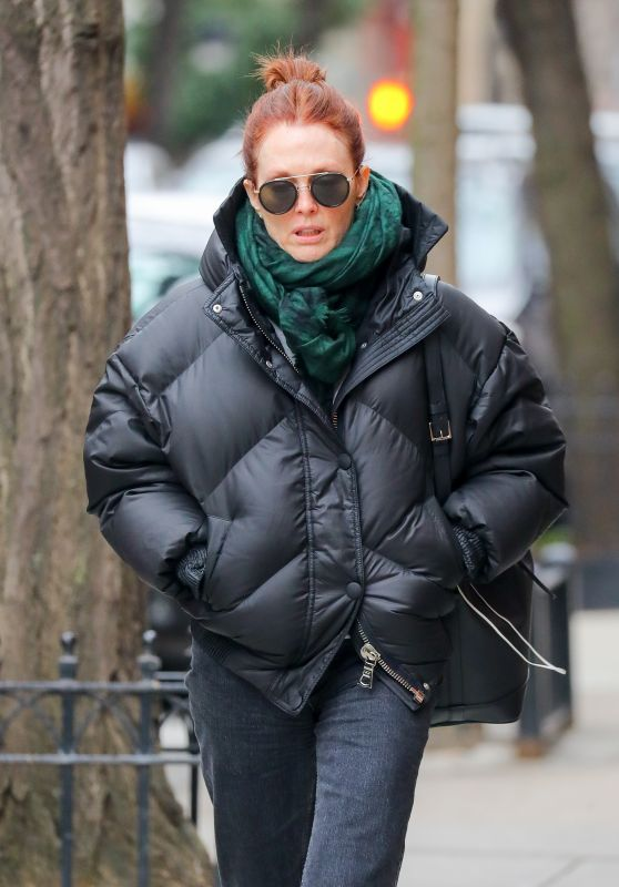 Julianne Moore - Out in West Village in NYC