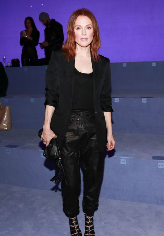 Julianne Moore – Tom Ford Fashion Show Fall Winter 2018 in NYC