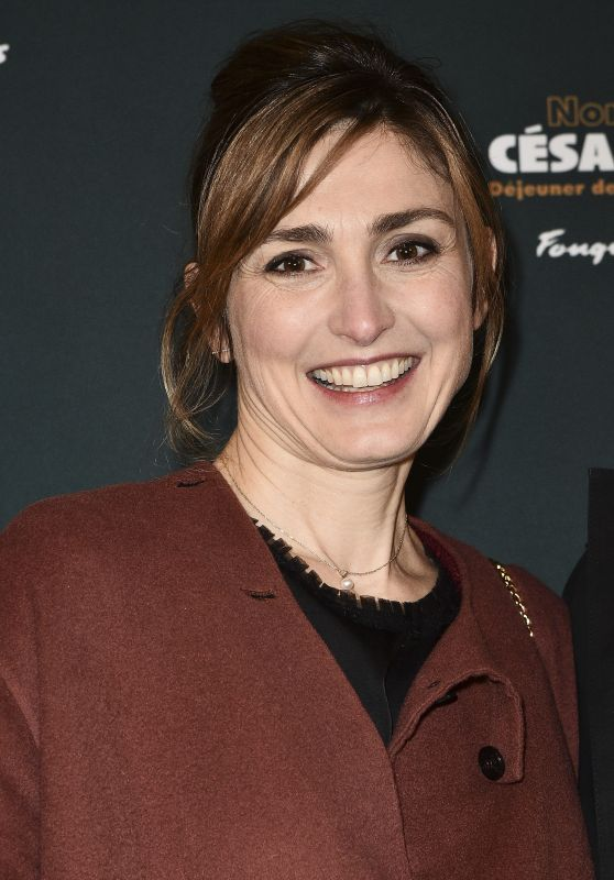 Julie Gayet - Lunch of the Nominees for the Cesars 2018 in Paris