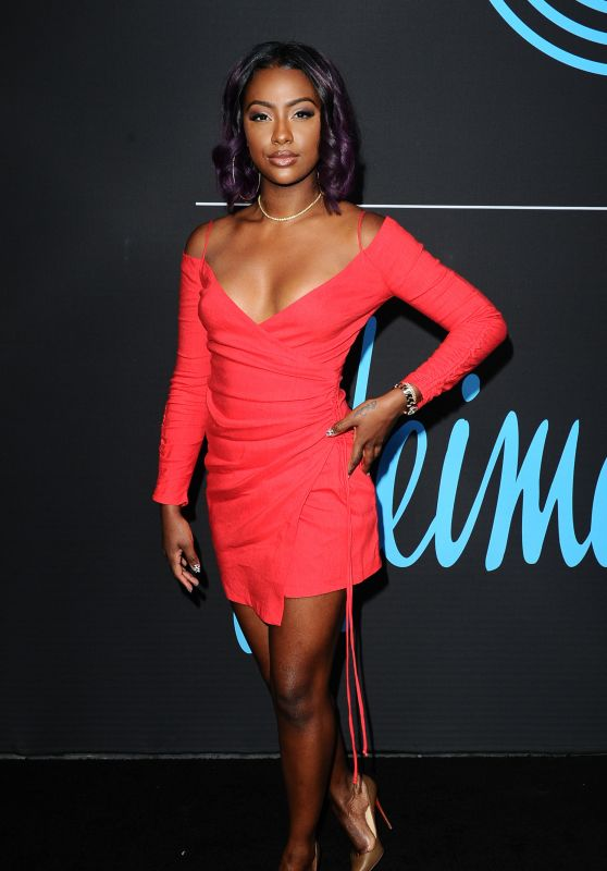 Justine Skye - GQ All Star Party in LA