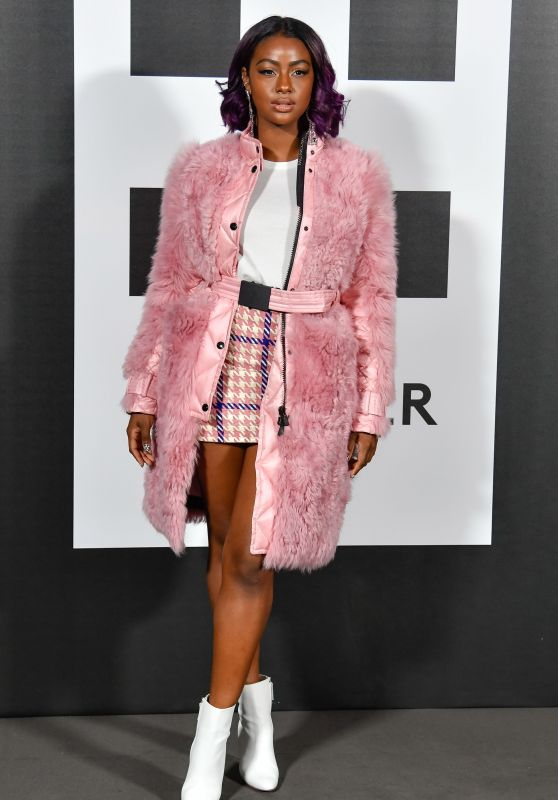 Justine Skye – Moncler Genius Project, Milan Fashion Week 02/20/2018