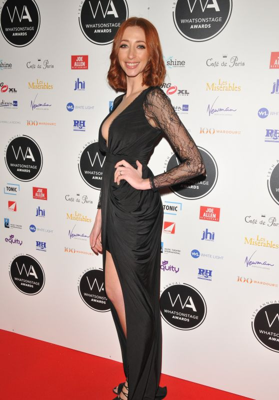 Kara Lily Hayworth – 2018 WhatsOnStage Awards in London