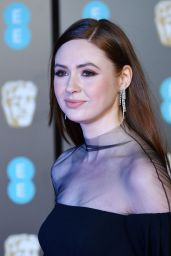 Karen Gillan – 2018 British Academy Film Awards