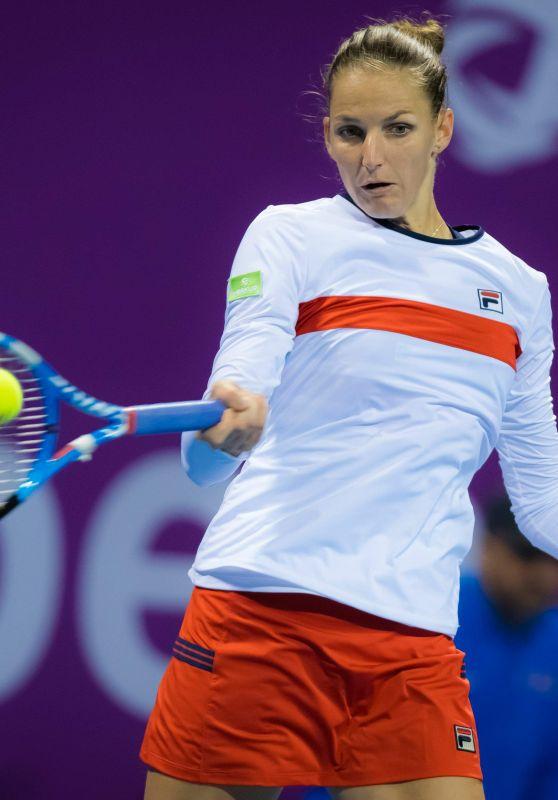 Karolina Pliskova - Qatar WTA Total Open in Doha