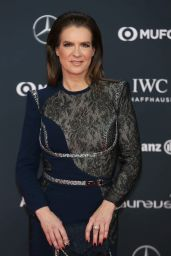 Katarina Witt - Laureus World Sports Awards in Monte Carlo 02/27/2018