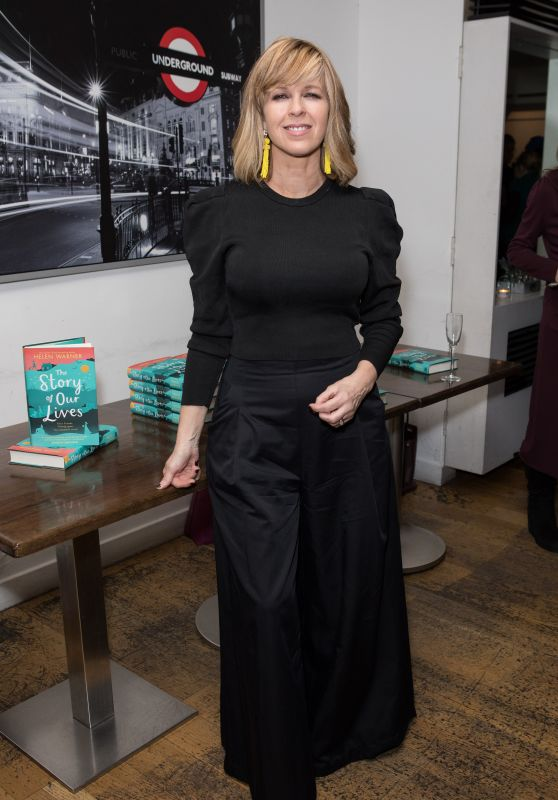 Kate Garraway – Helen Warner The Story of Our Lives Book Launch Party in London