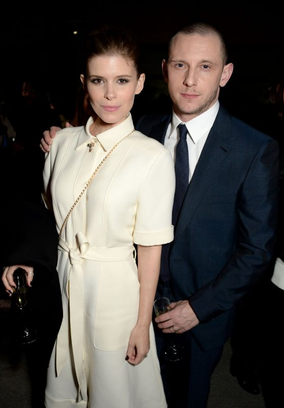 Kate Mara and Jamie Bell – Burberry Show, LFW 02/17/2018