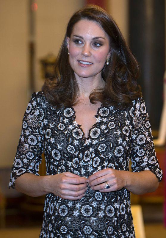 Kate Middleton - Commonwealth Fashion Exchange Reception in London