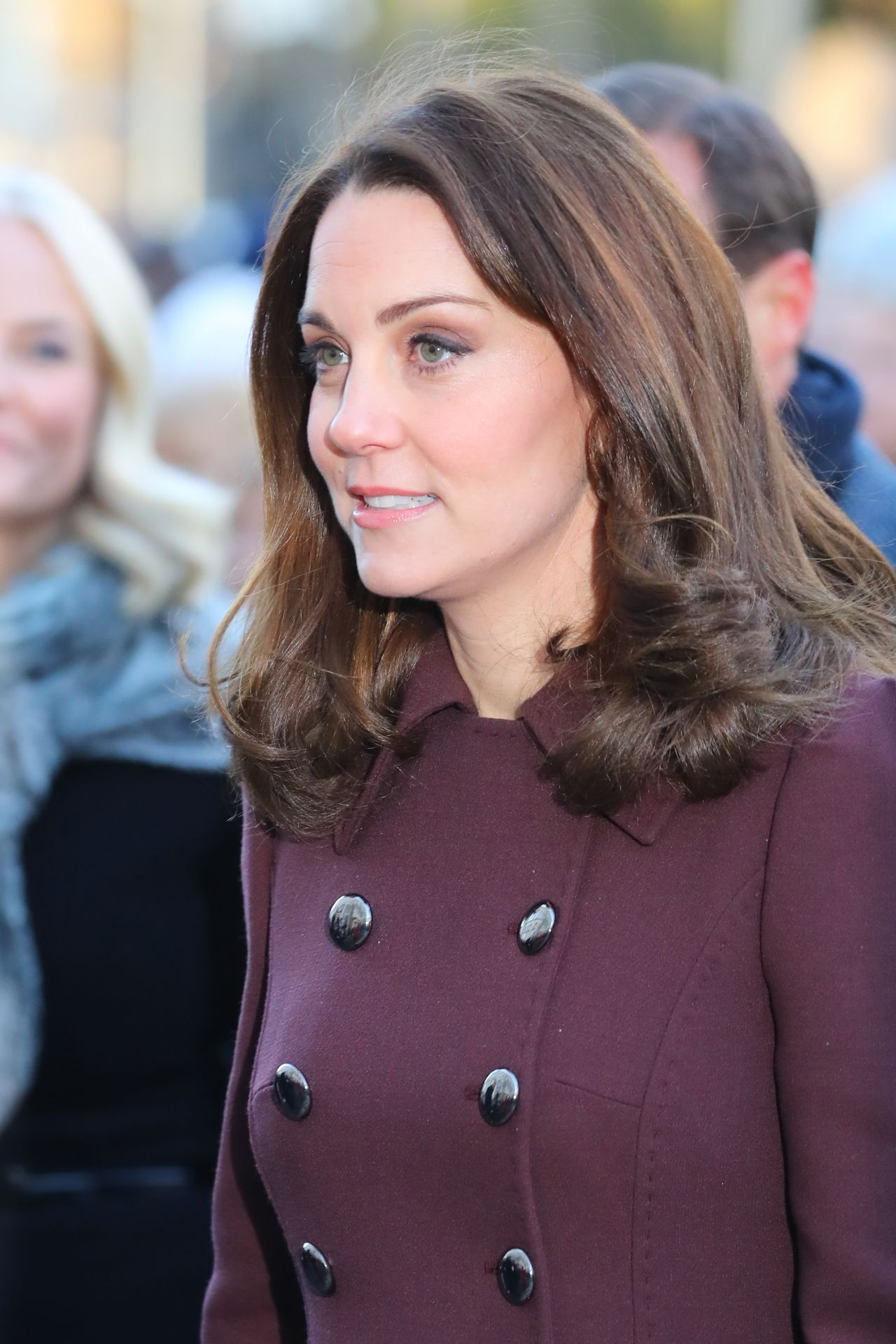 Kate Middleton Visits Hartvig Nissen School In Oslo
