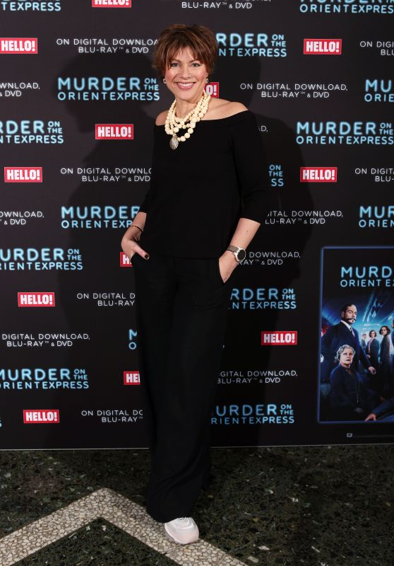 """Kate Silverton – """"Murder On The Orient Express"""" Screening to Celebrate the Blu-Ray and DVD Release in London"""