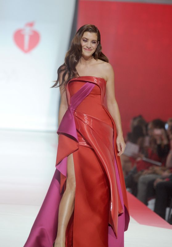 Kate Walsh Walks Runway for Red Dress 2018 Collection Fashion Show in NYC