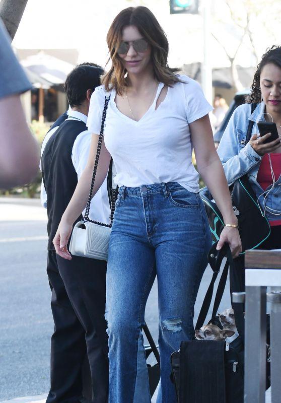 Katharine McPhee in Jeans in Beverly Hills 02/03/2018