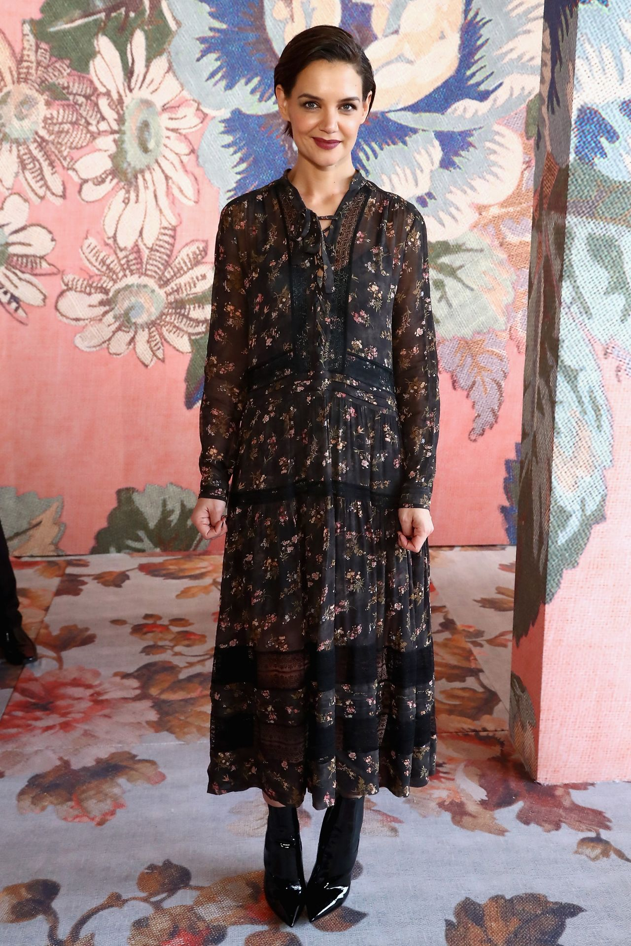 Katie Holmes At Zimmermann Fashion Show In Nyc 02 12 2018