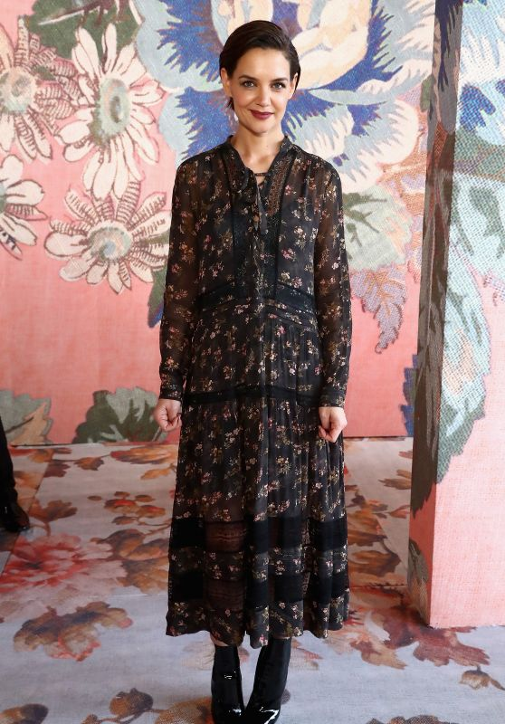 Katie Holmes at Zimmermann Fashion Show in NYC 02/12/2018