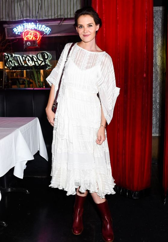 Katie Holmes - Zimmerman Store Opening Fall Winter 2018 at NYFW