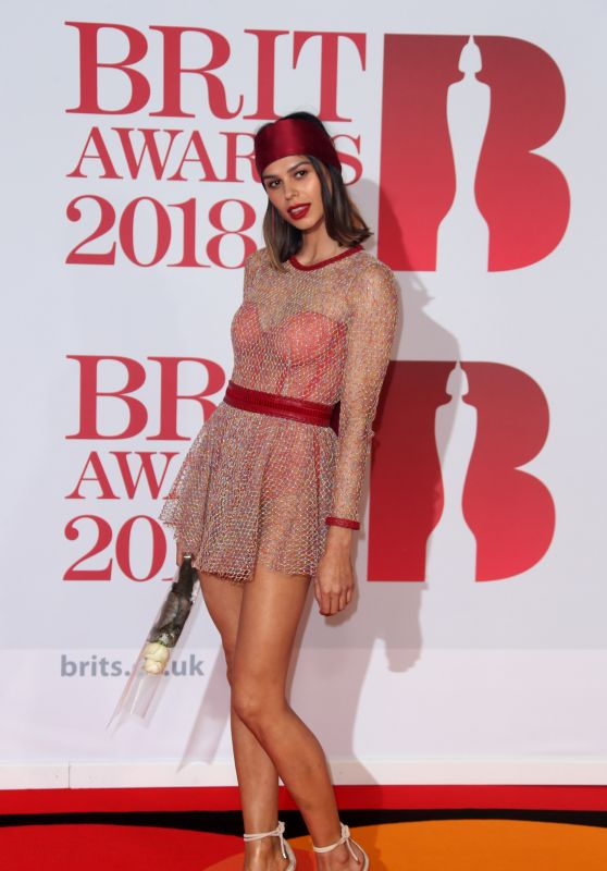Katie Keight – 2018 Brit Awards in London