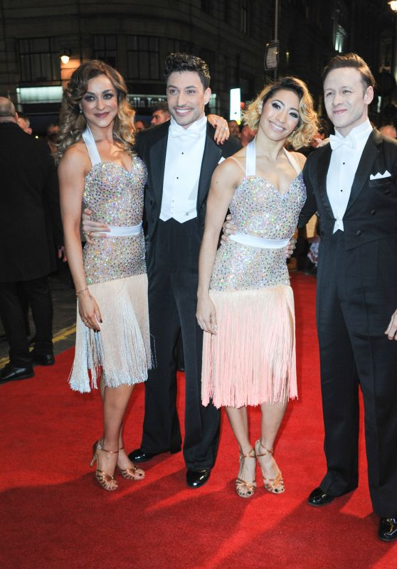 Katya Jones, Luba Mushtuk and Karen Clifton – BBC's Bruce: A Celebration Event in London