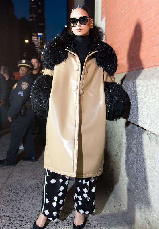 Kehlani – Marc Jacobs Fashion Show, NYFW 02/14/2018