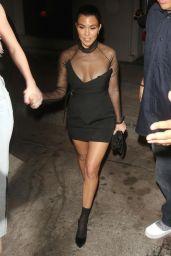Kendall Jenner and Kourtney Kardashian at Craig