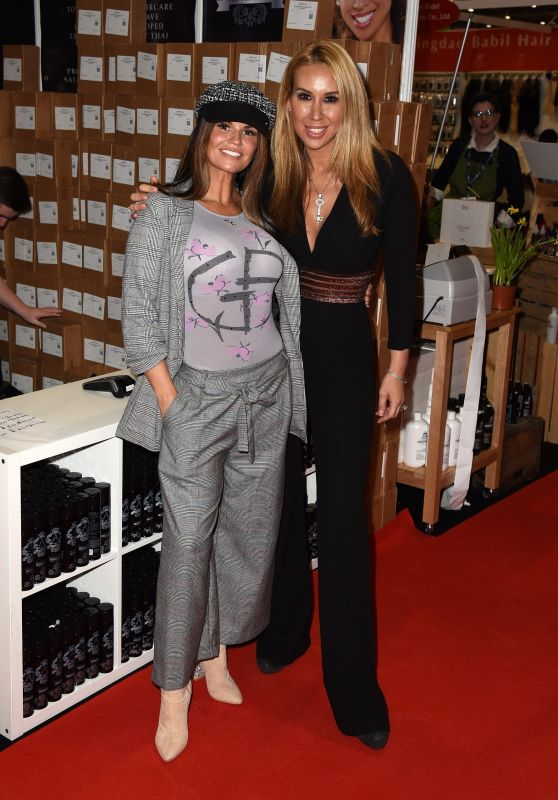 Kerry Katona and Ampika Pickston – Professional Beauty Exhibition in London