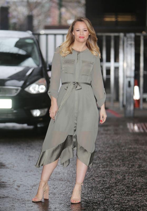 Kimberley Walsh Style - ITV Studios in London 02/19/2018