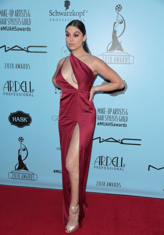 Kira Kosarin – Make-Up Artist & Hair Stylist Guild Awards in LA
