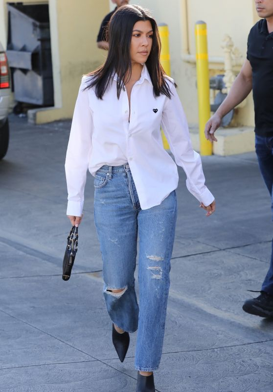 Kourtney Kardashian at Carousel Restaurant in Hollywood