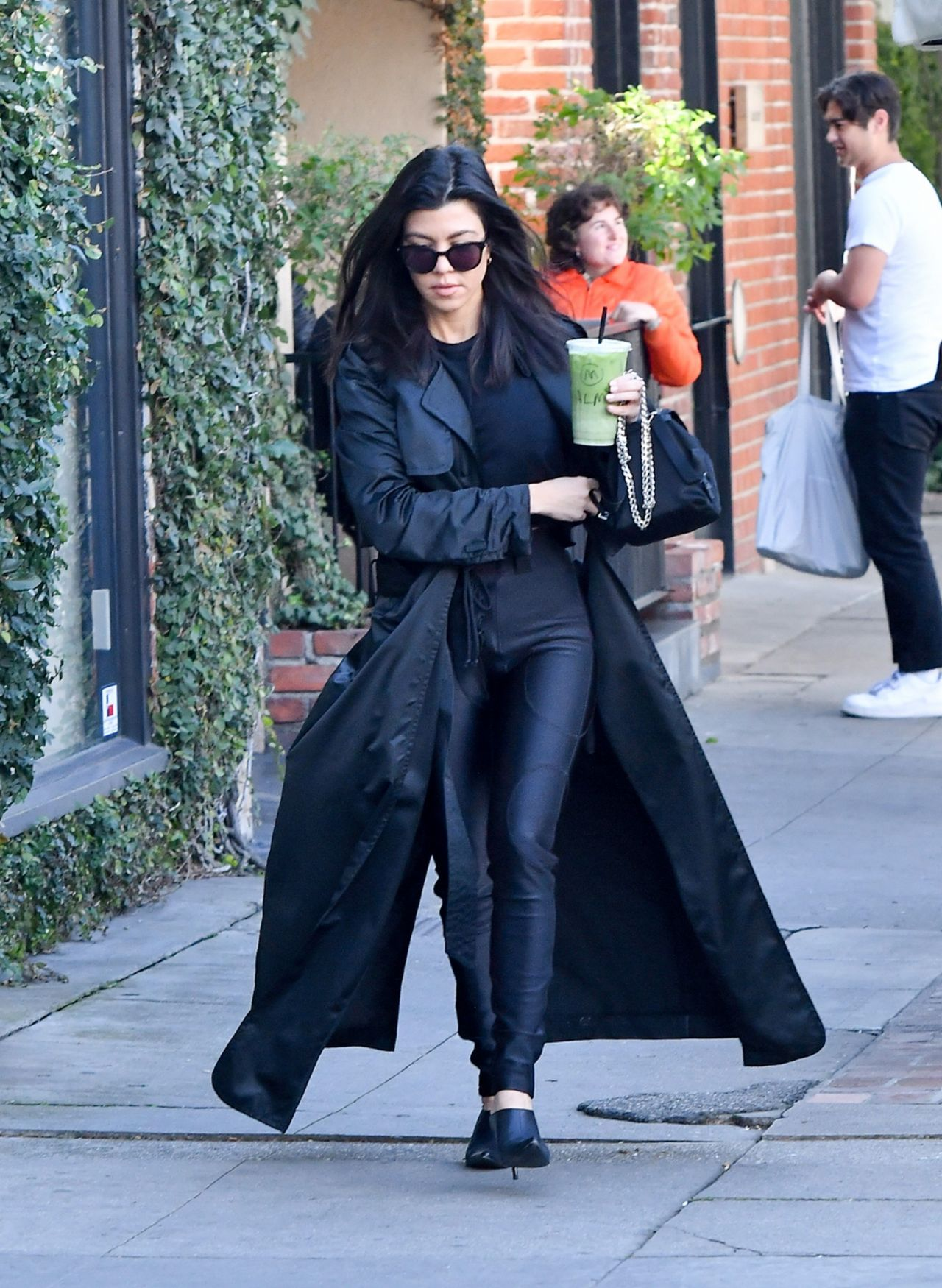 Kourtney Kardashian Street Fashion Los Angeles February