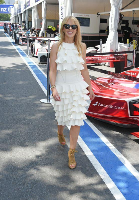 Kylie Minogue - ABB FIA Formula E Antofagasta Minerals Santiago E-Prix in Chile