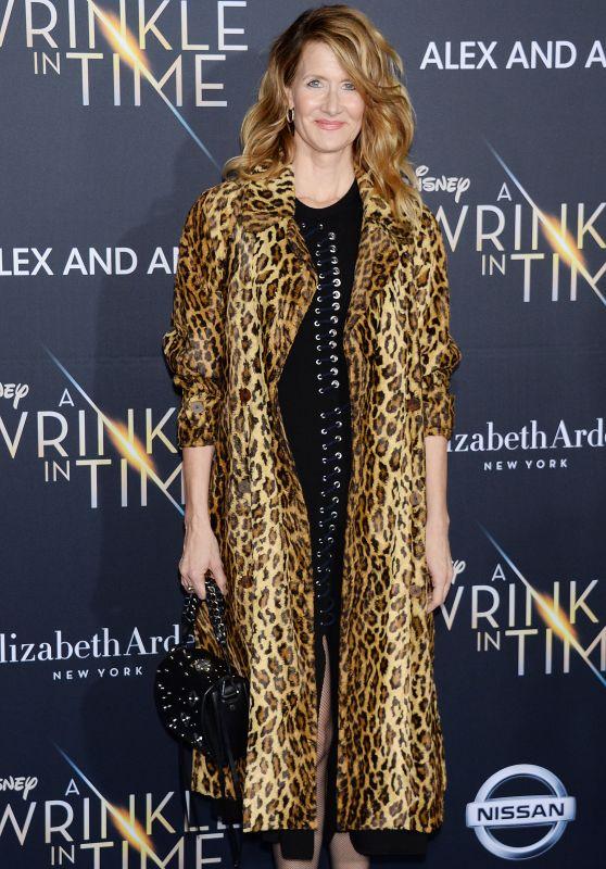 "Laura Dern – ""A Wrinkle in Time"" Premiere in Los Angeles"