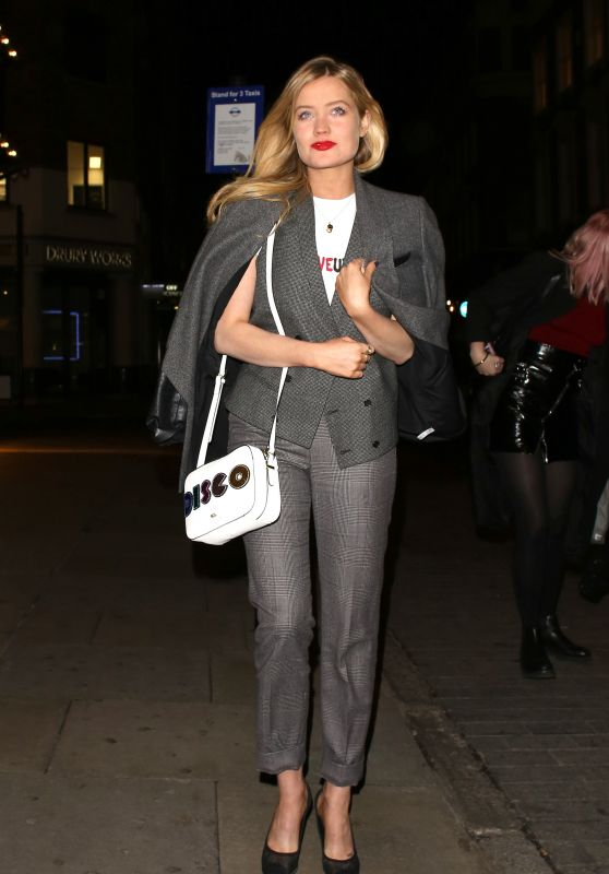 Laura Whitmore Style - at Covent Garden 1st Birthday Party in London