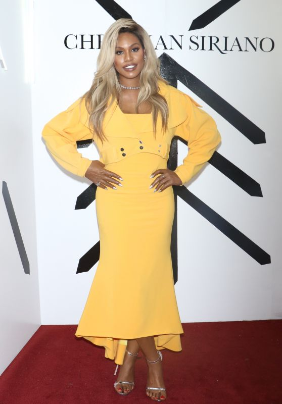 Laverne Cox – Christian Siriano Show FW18 at NYFW