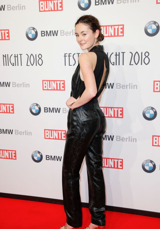 Lea van Acken – BUNTE & BMW Host Festival Night, Berlinale 2018