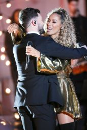 Leona Lewis and Calum Scott perform on The One Show in London